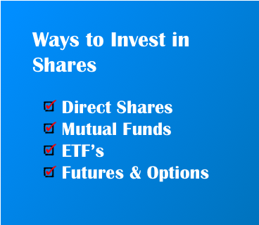 How to Invest in Shares - Benefits - ways to invest in equity