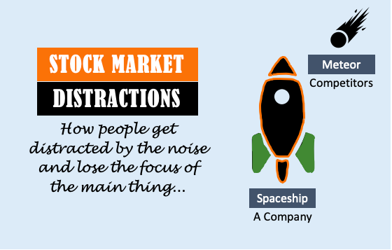 Stock Market Distractions - Image