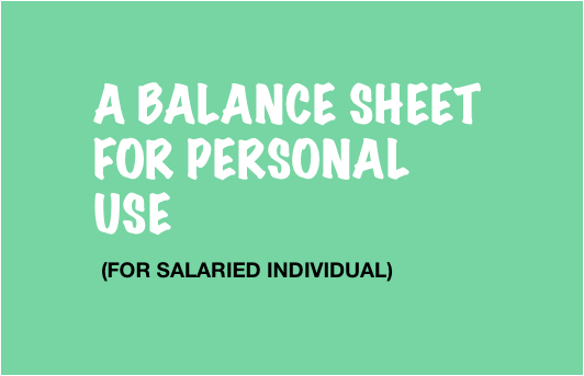Personal Balance Sheet for Individual - image2