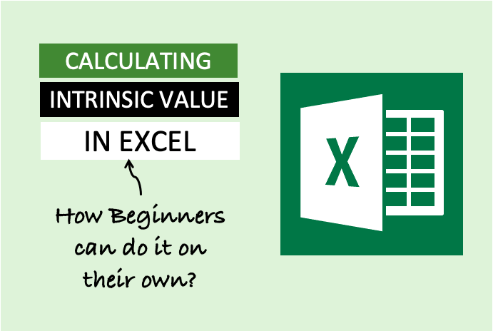 Calculate Intrinsic Value In Excel - Image