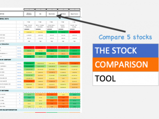 Stock Comparison Tool - Image