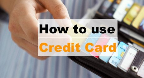 How to use Credit Card -image