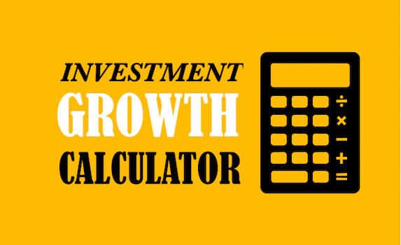 Investment Growth Calculator with monthly contributions - Image