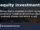 How to start investing money in Equity -image