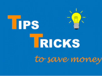 Tricks to save money - IMAGE