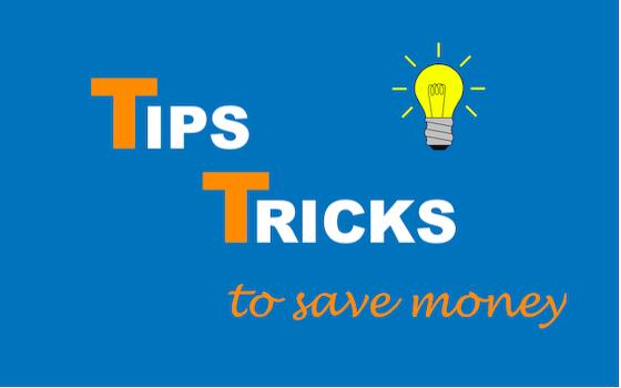Tricks to save money - IMAGE