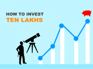 How To Invest 10 Lakh Rupees Wisely - Image