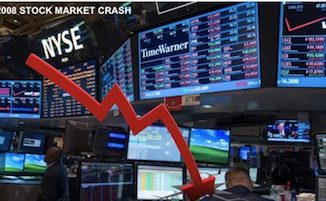 2008 stock market crash -image