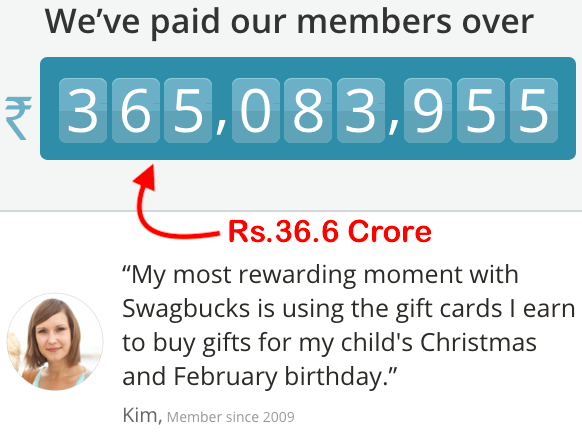 Swagbucks India - Paid to Users