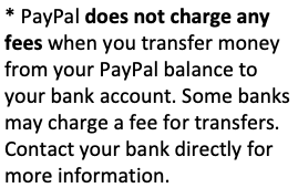 Swagbucks India - PayPal Transfer Charges