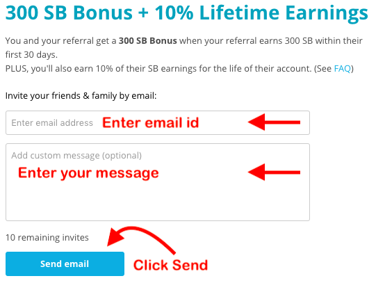 Swagbucks India - Referral