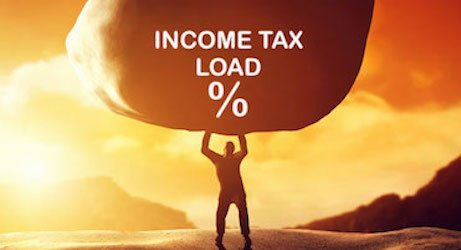 Effective income tax paid on salary -Image
