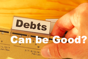 Debt is good or bad for companies-Image
