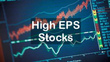 High EPS stocks - Image
