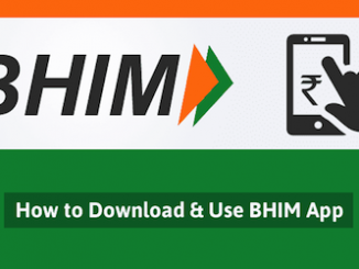 How BHIM UPI Works -image