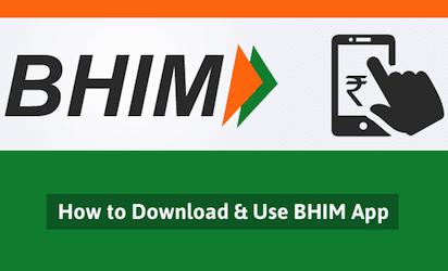 How BHIM UPI Works -image