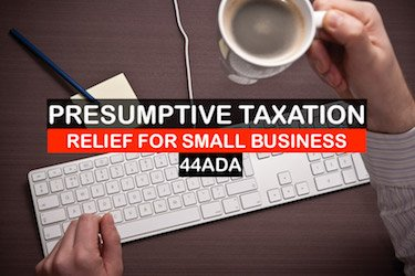 Presumptive Taxation for Freelancers Section 44ADA -image