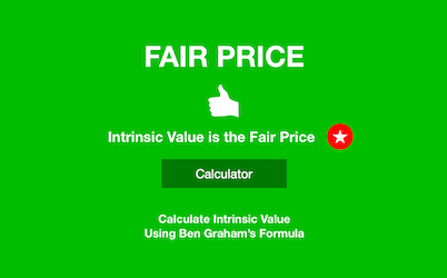 Calculator - LandingPage - IntrinsicValue