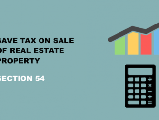 Save tax on sale of real estate property - IMAGE