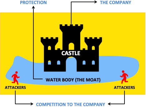 What is Moat - Analogy of Moat with Companies Stocks