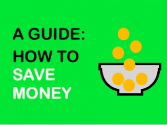 How to save money from salary - IMAGE
