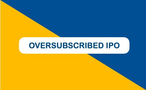 oversubscribed ipo - Image