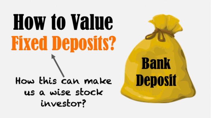 How to value a fixed deposit - image
