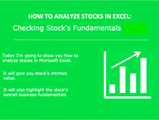 How to analyze stocks in excel - image